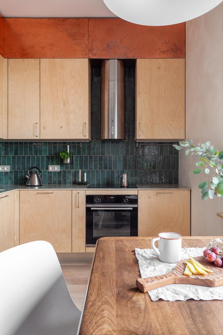 Фото №3 - Квартира в скандинавском стиле с печью