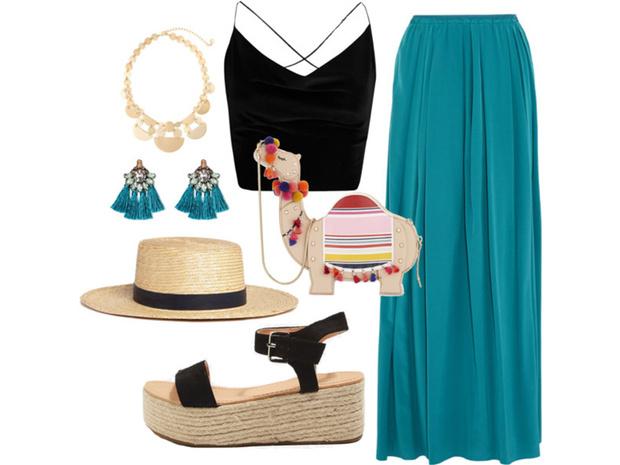 Фото №3 - Цвет настроения синий: отпускной гардероб в стиле Жасмин