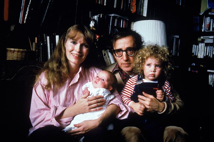 Вуди Аллена (Woody Allen), Дилан Фэрроу (Dylan Farrow), Миа Фэрроу (Mia Farrow)