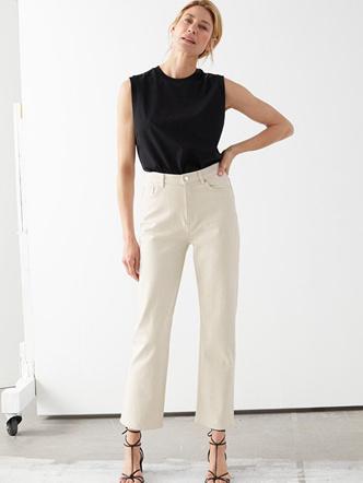 Фото №12 - Какие джинсы носить осенью 2020: 7 главных трендов