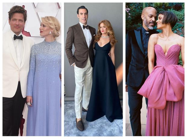 Фото №1 - «Оскар-2021»: самые красивые звездные пары церемонии