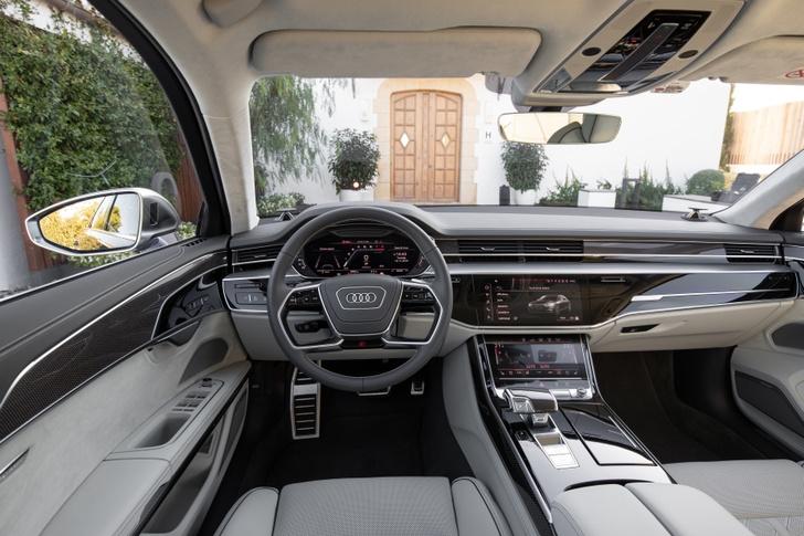Фото №4 - Быстрый и роскошный Audi S8 уже доступен для заказа
