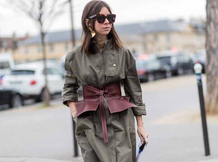 Фото №1 - Как носить баски и широкие пояса (и где искать самые модные)