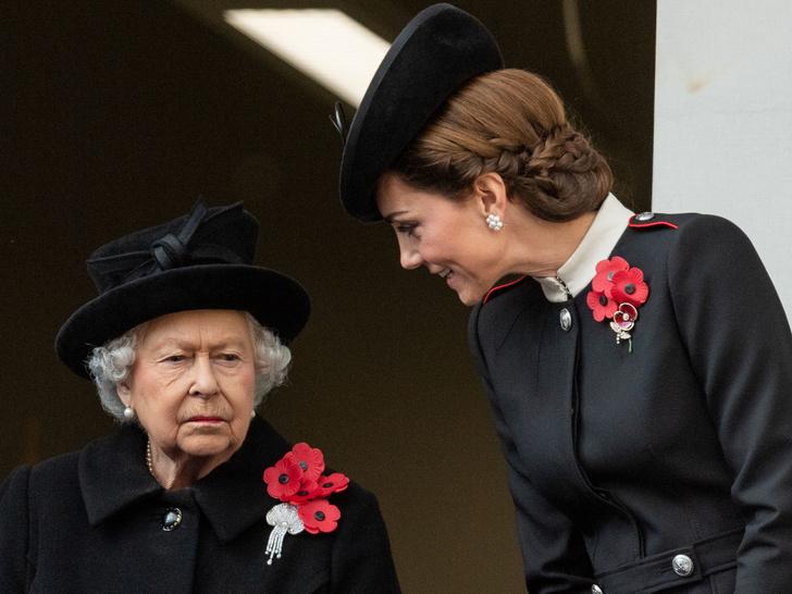 Фото №1 - Единственный раз, когда герцогиня Кейт по-настоящему расстроила Королеву