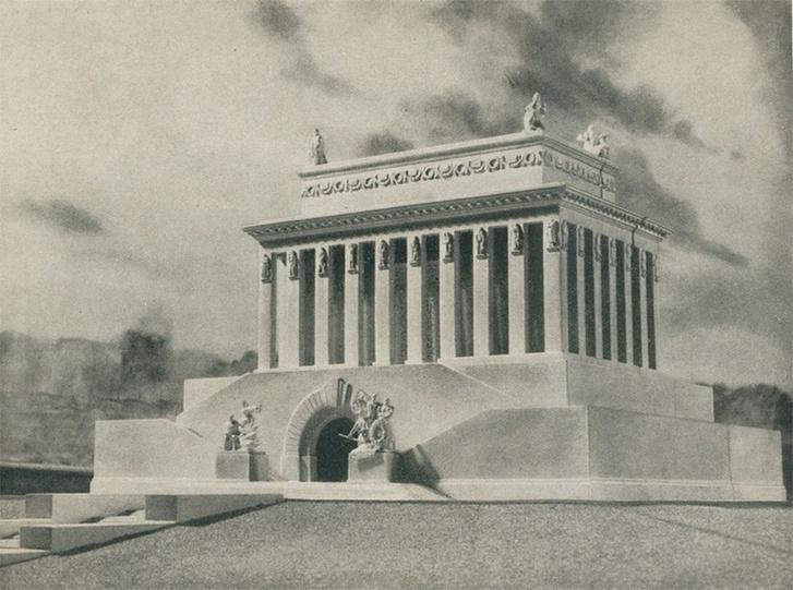 Фото №1 - 10 проектов пантеона, в котором хотели перезахоронить Сталина и Ленина