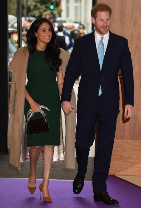Герцог и герцогиня Сассекские в Лондоне