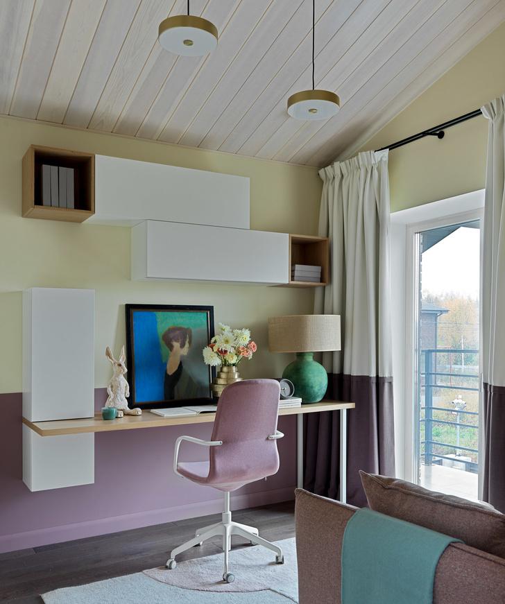 Фото №19 - Дом в Подмосковье 250 м² с камином и большими окнами