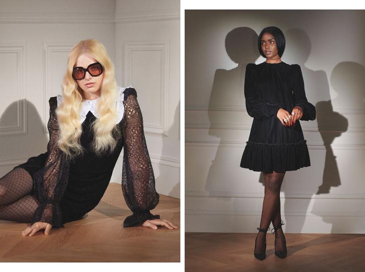 Фото №1 - Кружевные платья и викторианские воротнички: H&M представил новую коллаборацию с The Vampire's Wife