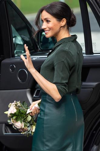 Фото №18 - Лучшие образы Меган Маркл за первый год в королевской семье