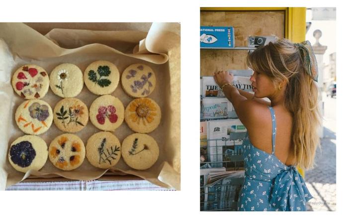 Фото №5 - Фуд-тренд: ванильное печенье со съедобными цветами— лучшее украшение для вашего пикника