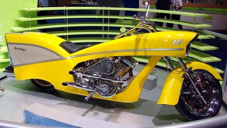 Фото №3 - 7 самых странных мотоциклов