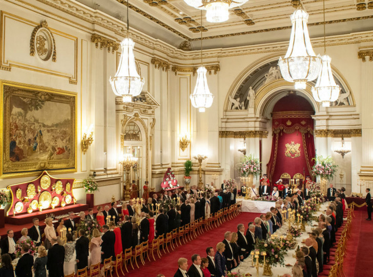 Фото №5 - Как прошел прием в честь Дональда Трампа в королевском дворце