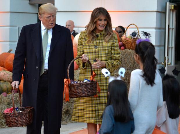 Фото №3 - «Это и так жуткое место»: Меланию Трамп раскритиковали за подготовку Белого дома к Хэллоуину