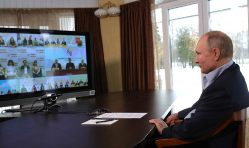 Фото №1 - Путин заявил о возможности «аккуратного» снятия ковидных ограничений
