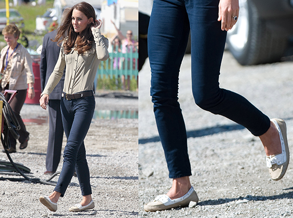 Фото №39 - Туфелька для Золушки: какую обувь носит Кейт Миддлтон