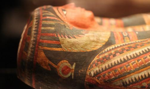 """Фото №1 - Ученые """"обследовали"""" мумию на КТ и выяснили, что стало причиной гибели египетского фараона"""