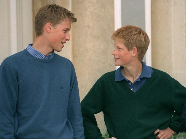 Фото №13 - 15 трогательных фото, доказывающих, что Уильям и Гарри были действительно близки
