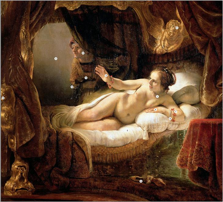 Фото №1 - Прощание гречанки: 13 символов, зашифрованных в картине Рембрандта