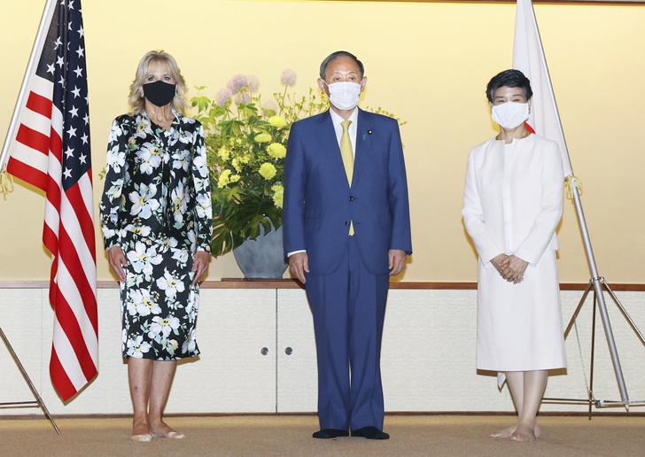 Фото №2 - 3 образа первой леди США Джилл Байден для визита в Японию