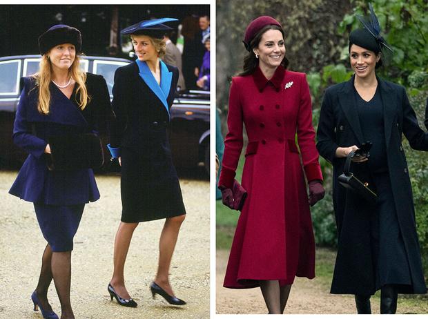 Фото №1 - Почему Сара Фергюсон сравнивает Кейт и Меган с собой и Дианой