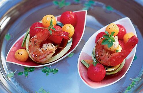 Фото №2 - Арбуз и дыня: вкусные рецепты