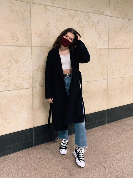Фото №8 - С чем носить кеды осенью 2020: 10 модных идей