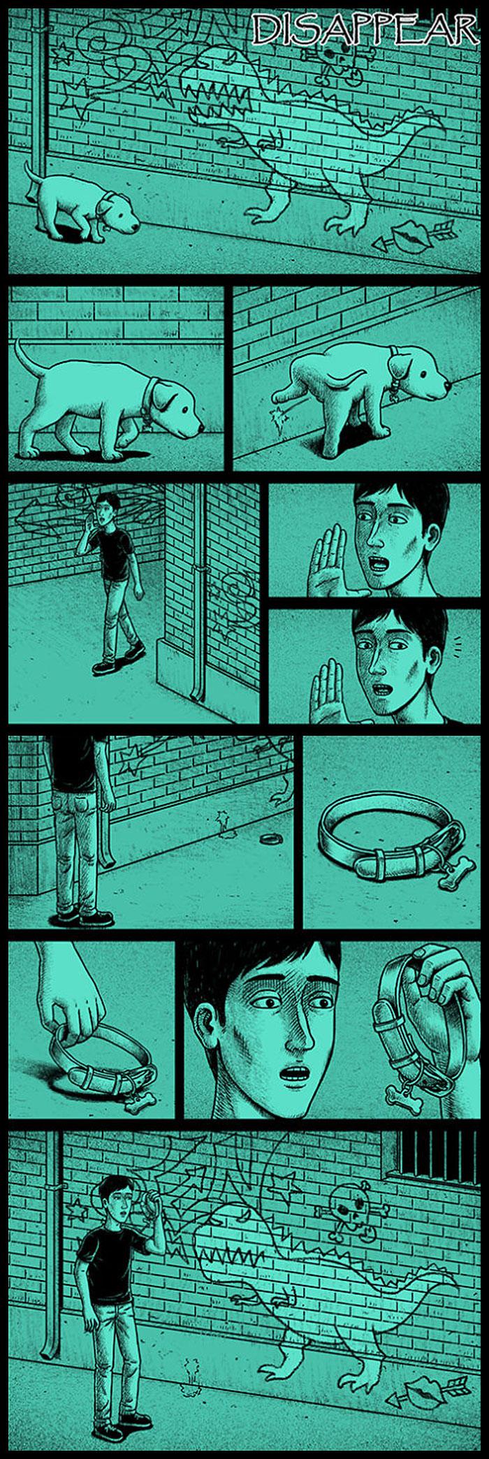 Фото №25 - 30 комиксов с отборным черным юмором от Бена Чена