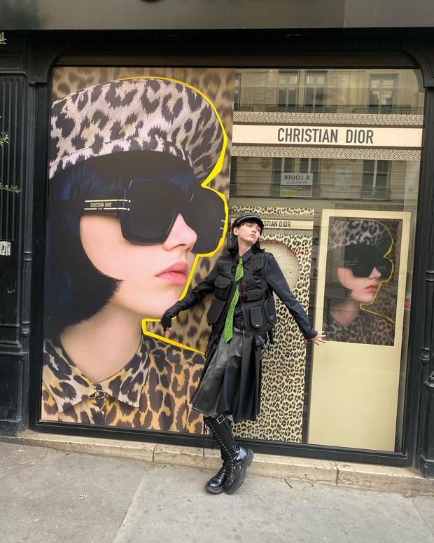 Фото №2 - Носить мужской галстук— это красиво. Доказывает любимица Dior и Givenchy София Стейнберг из Новосибирска