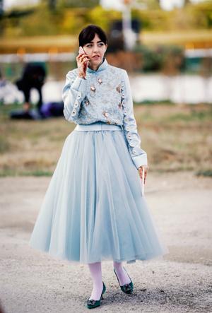 Фото №9 - Плиссе и круазе: как одежда балерин вновь вернулась в моду