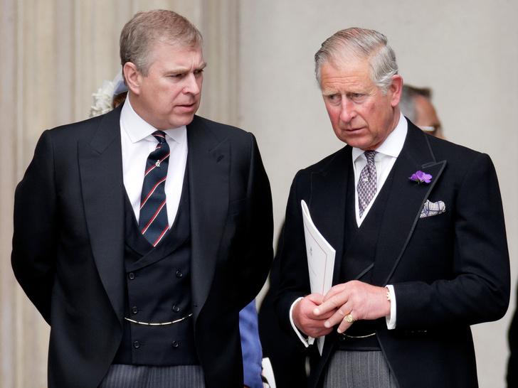 Фото №1 - Вражда других королевских братьев: что не поделили принцы Чарльз и Эндрю