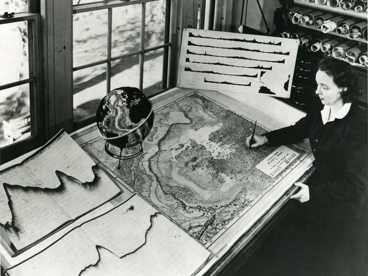 Фото №1 - Карта морского дна Марии Тарп