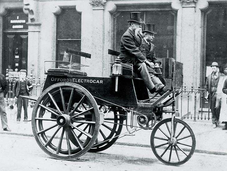 Фото №2 - Электромобиль: полтора века истории