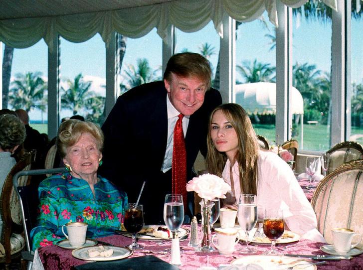 Фото №6 - Первое впечатление: как семья Дональда Трампа приняла Меланию