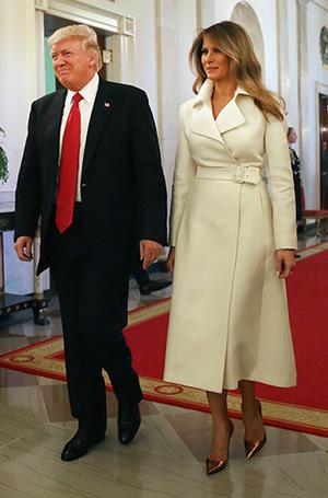 Фото №6 - Мелания Трамп: новые стандарты стиля Первой леди