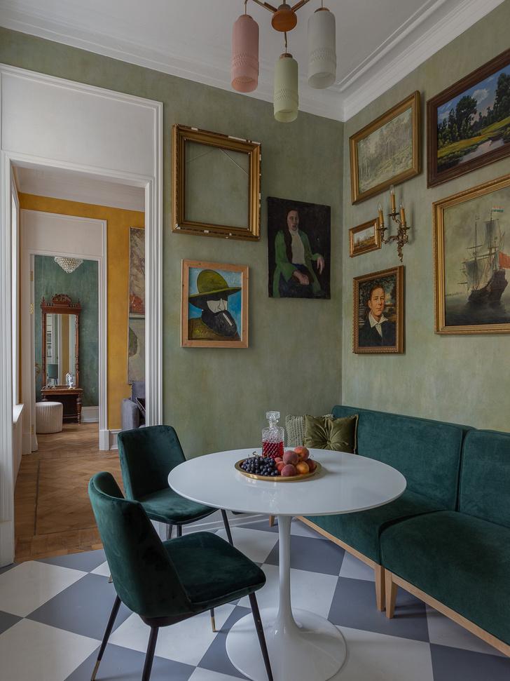 Фото №4 - Атмосферная квартира 50 м² в бывшем доходном доме 1913-го года в Москве