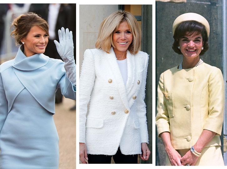 Фото №1 - Этикет первых леди: что можно (и нельзя) супругам президентов