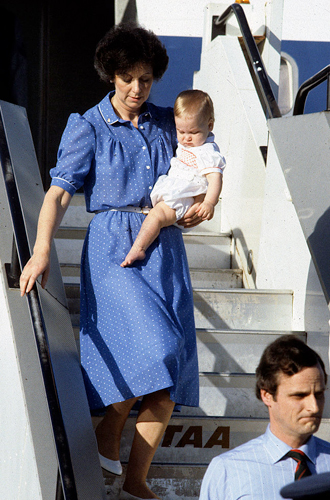 Фото №22 - Малыши-путешественники: первые зарубежные туры королевских детей