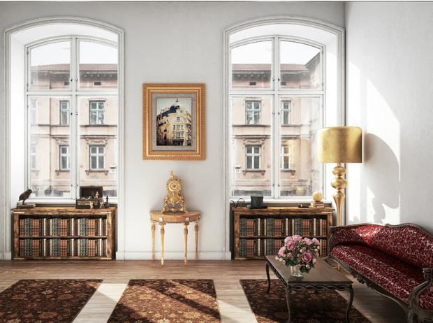 Фото №4 - Винтаж в интерьере: как не превратить квартиру в «бабушкин сундук»
