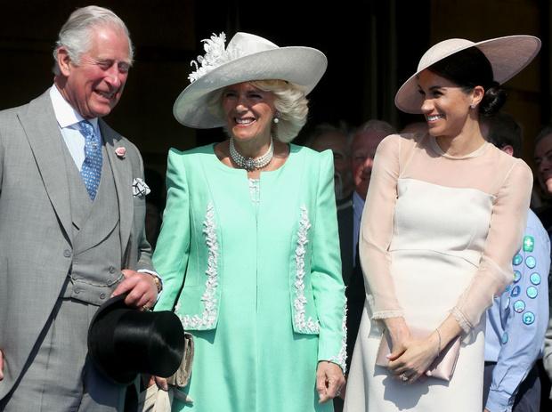 Фото №1 - Американская невестка: каким было первое впечатление Чарльза и Камиллы от Меган