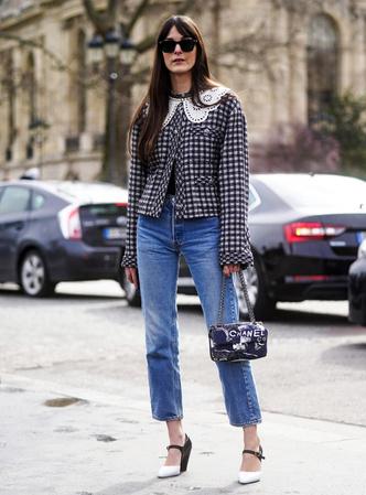 Фото №2 - С чем носить базовые прямые джинсы: модные идеи на любой случай