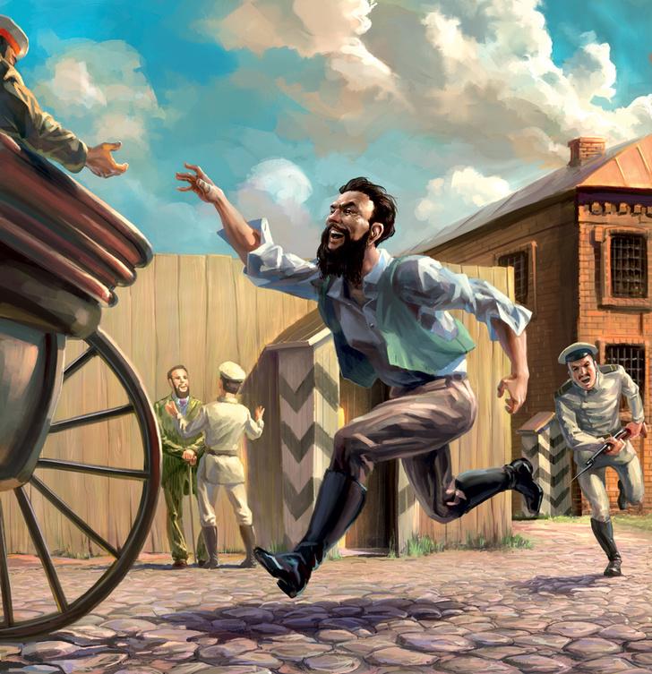 Фото №1 - Как князь Кропоткин из тюрьмы бежал
