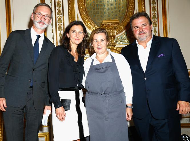 Фото №1 - Елена Перминова, Джессика Альба и другие звёзды на вечеринке Longchamp