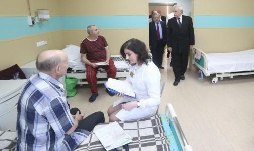 Фото №1 - В больнице святого Георгия создается Городской центр диабетической стопы