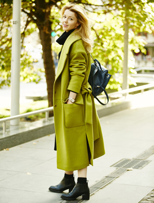 Фото №9 - I Am Studio: как носить пальто этой осенью