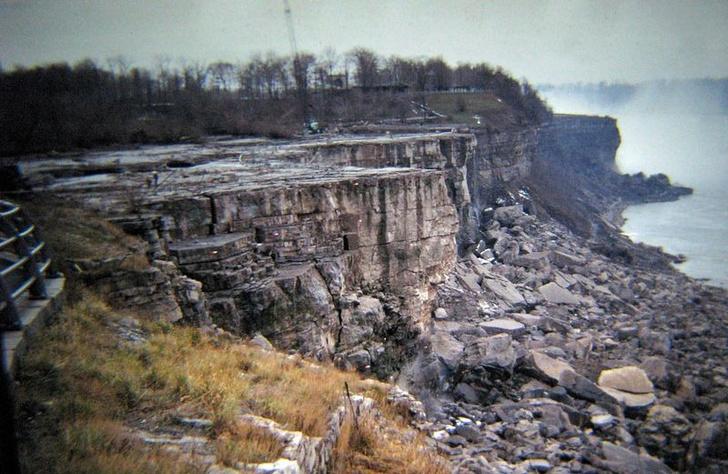 Фото №2 - Сухой Ниагарский водопад и еще 4 неожиданные ретрофотографии