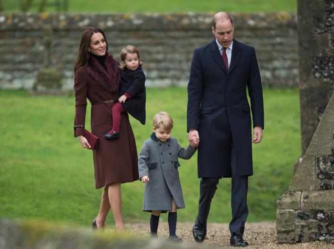 Фото №1 - Принцесса Шарлотта и принц Джордж снова в центре внимания