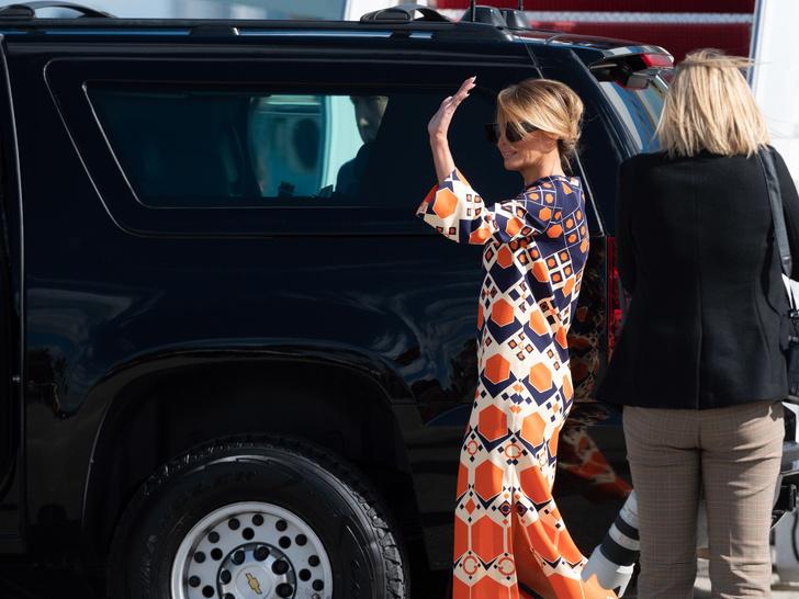 Фото №5 - Обратная трансформация: как Мелания Трамп за один день превратилась из Первой леди в жену миллиардера