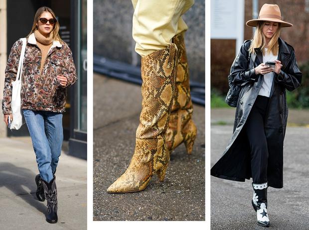 Фото №1 - С чем носить ковбойские сапоги: на каждый день, в офис и на вечеринку