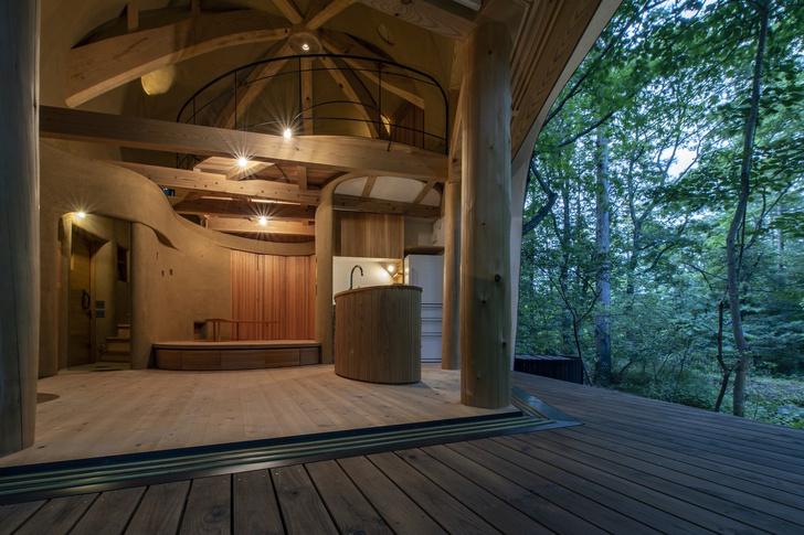 Фото №4 - Летний дом в японском лесу