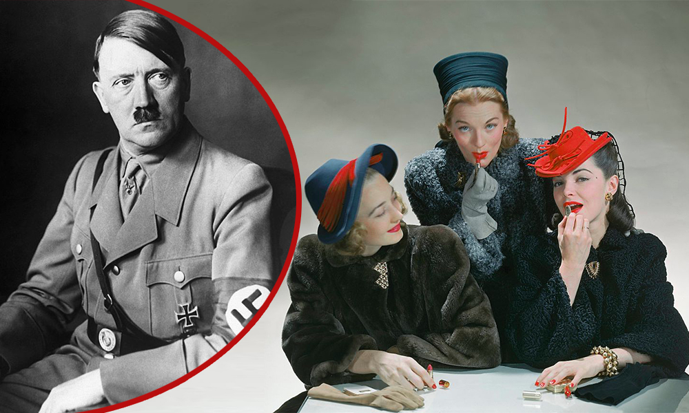 Почему Адольф Гитлер ненавидел красную помаду